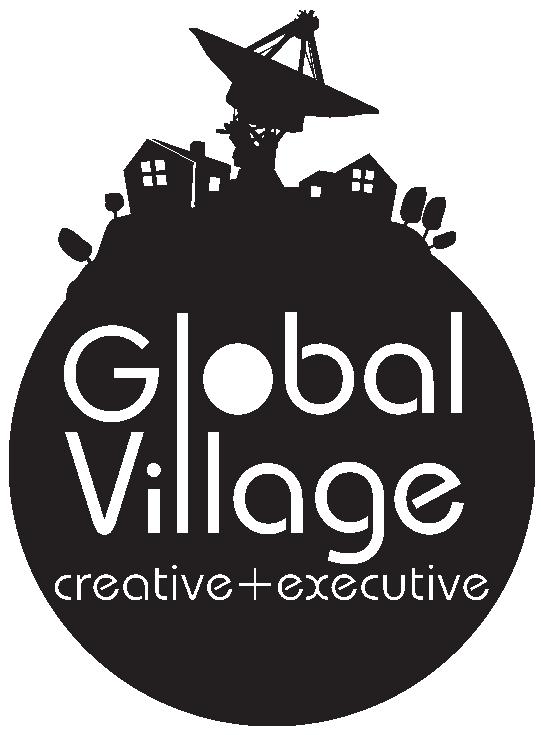 produtora de vídeos - logo -global village